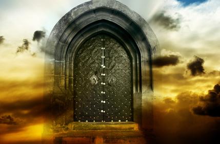 mystická brána