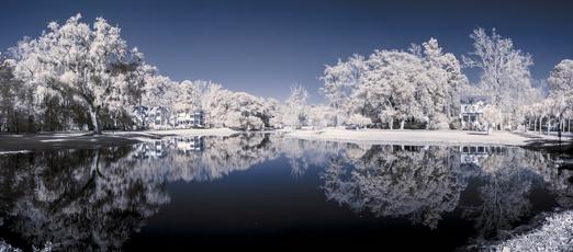 krajina v zime